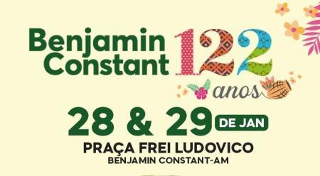 Prefeitura prepara grande festa cultural em comemoração ao aniversário de Benjamin Constant