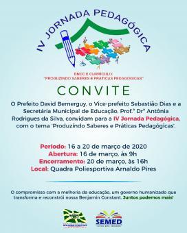 IV Jornada Pedagógica