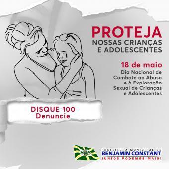 Dia Nacional de Combate ao Abuso Infantil