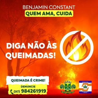 Campanha contra as queimadas