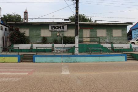 Prédio do INCRA no município